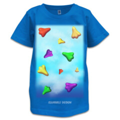 Jelly Planes T-shirt for Kids by Squibble Design
