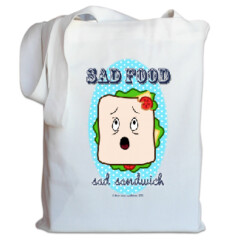 Sad Food - Sad Sandwich Tote