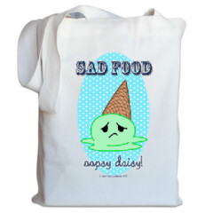 Sad Food - Oopsy Daisy Tote