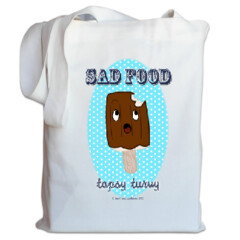 Sad Food - Topsy Turvy Tote