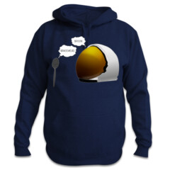 Spoon. Spacehead. Pullover Sweatshirt by Squibble Design