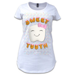 Sweet Tooth Women's Premiuim Tee by Squibble Design