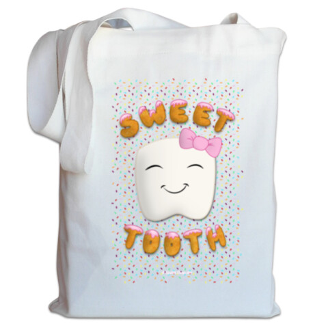 Sweet Tooth Tote Bag - Squibble
